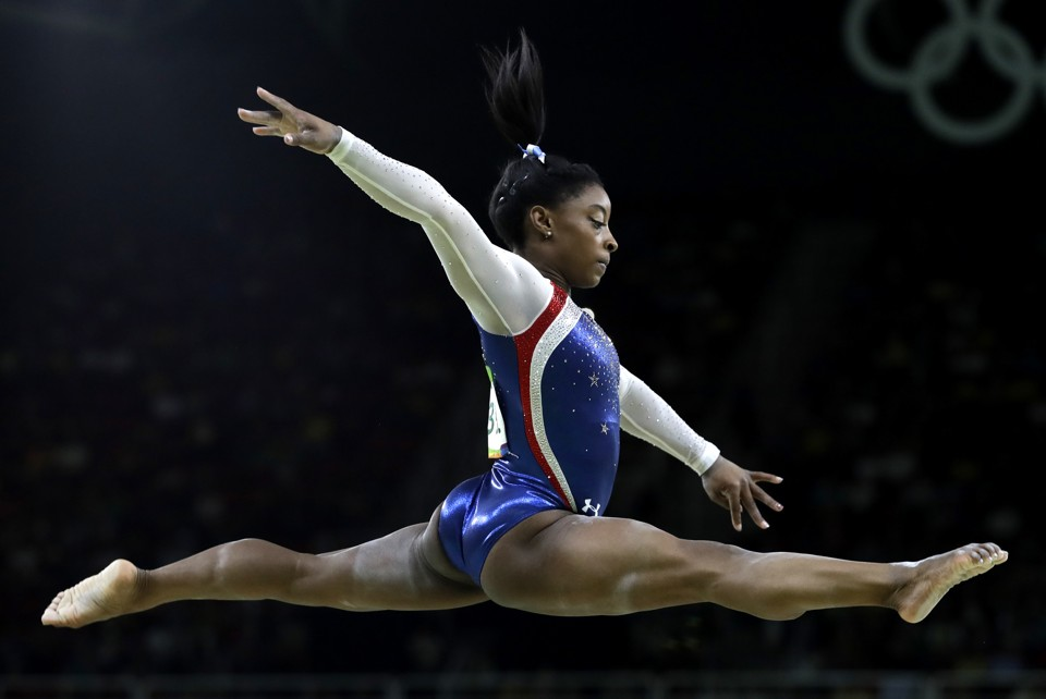 Simone Biles Being Flawless as Usual (AP Photo/Rebecca Blackwell), crowd ink, crowdink, crowdink.com, crowdink.com.au