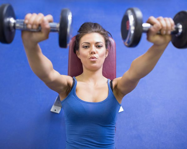 Why Women Need Weight Lifting [image source: womenshealthmag.com], crowd ink, crowdink, crowdink.com, crowdink.com.au