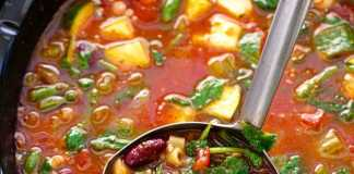 Minestrone Soup [image source: littlespicejar.com], crowd ink, crowdink, crowdink.com, crowdink.com.au