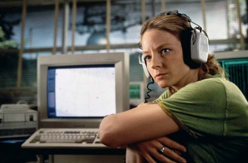 Jodie Foster in Contact [image source: collider.com], crowd ink, crowdink, crowdink.com, crowdink.com.au