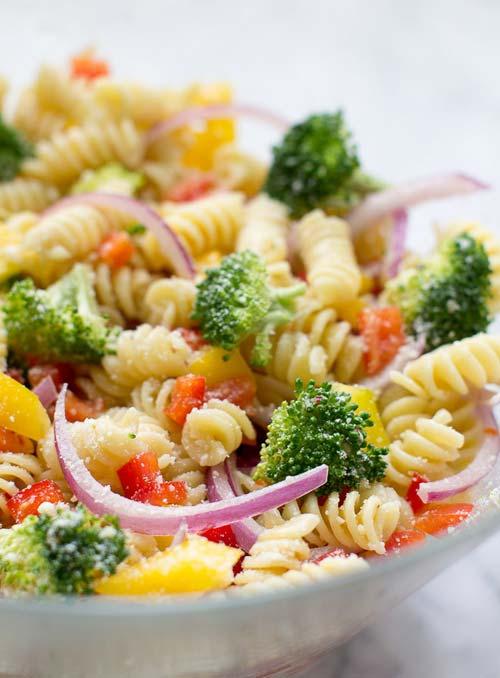 Pasta Salad [image source: culinaryhill.com], crowdink, crowd ink, crowdink.com, crowdink.com.au