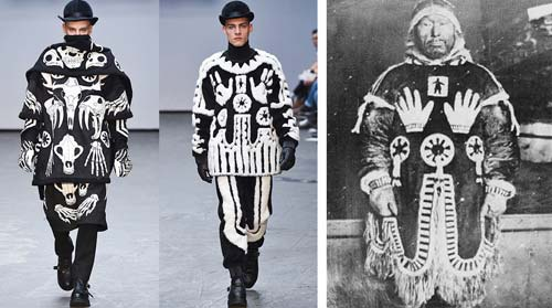 KTZ F/W 2016 / Sacred traditions of the Inuit culture (Vogue.com), crowdink.com, crowdink.com.au, crowd ink, crowdink