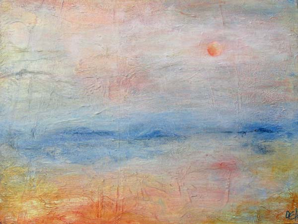 Monet Sunrise by Olivia Alexander, crowdink.com.au, crowdink.com, crowd ink, crowdink