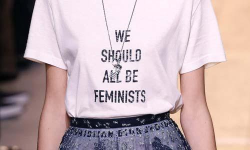 'We should all be Feminist' at Dior S/S 2017 (Image Source: Vogue.com), crowdink.com, crowdink.com.au, crowd ink, crowdink