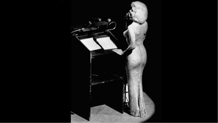 Monroe singing for President JFK. ( Image Source: forbes), crowdink.com, crowdink.com.au, crowdink, crowd ink