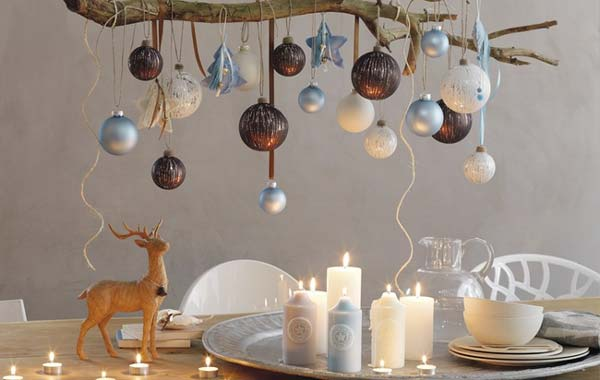 diy christmas decorations image source diyenthusiasts - Decorating House For Christmas On A Budget