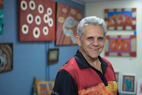 Michael Connolly, founder of Kullilla Art, crowdink.com, crowdink.com.au, crowd ink, crowdink