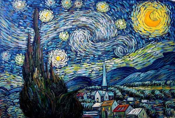The Starry Night (Image Source: MoMa), crowdink.com, crowdink.com.au, crowdink, crowd ink