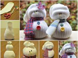 Sock Snowmen (Image Source: Wonderful DIY), crowdink.com, crowdink.com.au, crowd ink, crowdink