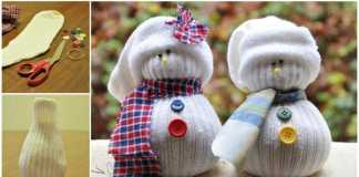 Sock Snowmen (Image Source: Wonderful DIY), crowdink.com, crowdink.com.au, crowd ink, crowdink
