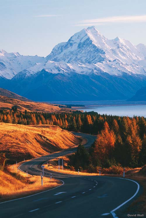 Winding Road with Snow Capped Mountain, crowdink.com, crowdink.com.au, crowd ink, crowdink