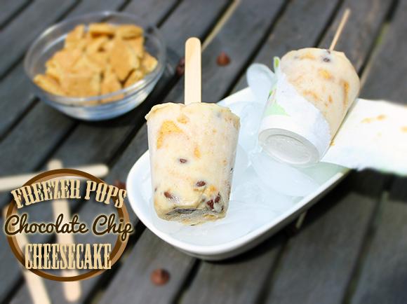 Chocolate Chips Cheesecake Freezer Pops crowdink.com, crowdink.com.au, crowd ink, crowdink