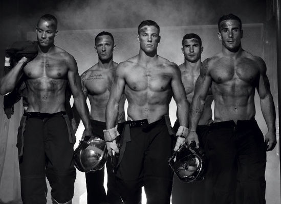 French Firefighters Pose Shirtless For Charity
