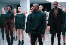 Kanye West Yeezy Fashion Show