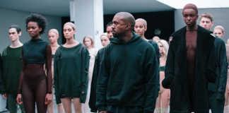 Kanye West Yeezy Fashion Show