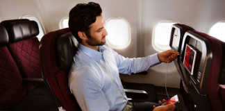 Qantas with free access to Netflix (Image source: repeat traveller), crowdink.com, crowdink.com.au, crowd ink, crowdink