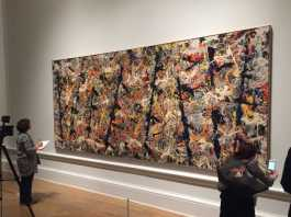 crowdink.com, crowdink.com.au, crowd ink, crowdink, Blue Poles' By Jackson Pollock (Image Source: ABC)