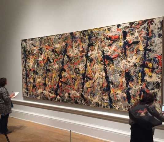 crowdink.com, crowdink.com.au, crowd ink, crowdink, Blue Poles' By Jackson Pollock (Image Source: ABC)
