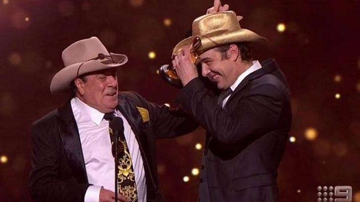 crowdink.com, crowdink.com.au, crowd ink, crowdink, Samuel Johnson and Molly Meldrum Gold Logie (Image Source SMH)