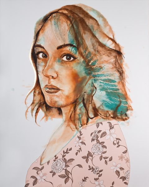 crowdink.com, art lovers Australia, artist, painting, drawing, crowdink.com.au, crowdink.com, crowd ink, crowdink , 'Carissa' by Johanna Wilbraham,