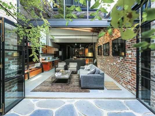Design article former garage now a home (Image Source: homes.nine), crowdink.com, crowdink.com.au, crowd ink, crowdink