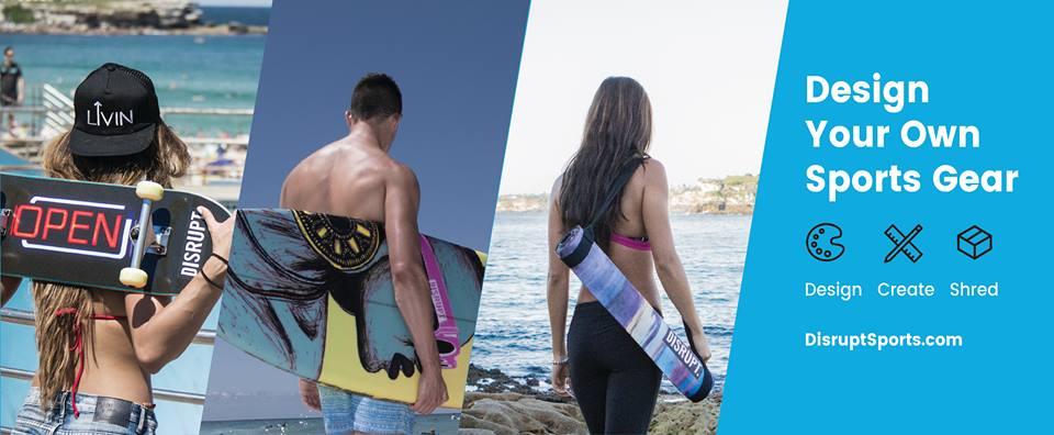 Disrupt Sports (Image Source: Facebook), crowdink.com, crowdink.com.au, crowd ink, crowdink