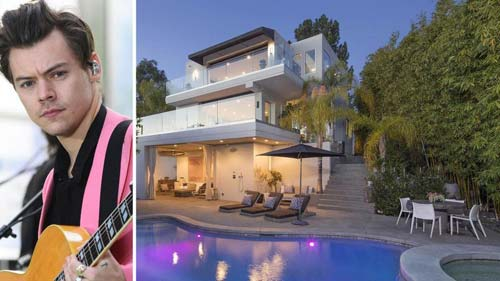 Harry Styles' Hollywood Hills Mansion (Image Source: homes.nine) crowdink.com, crowdink.com.au, crowd ink, crowdink