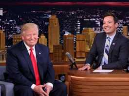 Jimmy Fallon and Trump (Image Source: smh), crowdink.com, crowdink.com.au, crowdink, crowd ink