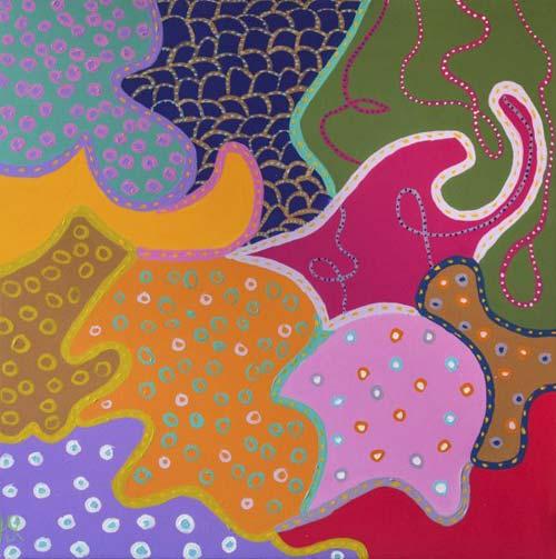 crowdink.com, art lovers Australia, artist, painting, drawing, crowdink.com.au, crowdink.com, crowd ink, crowdink , Miss Cheerful by Helen Joynson