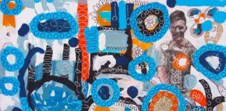 Crowdink.com,crowdink.com.au, crowd ink, crowdink, artloversaustralia, art, artist, painting, photography, Blue Memory by Simon Spain