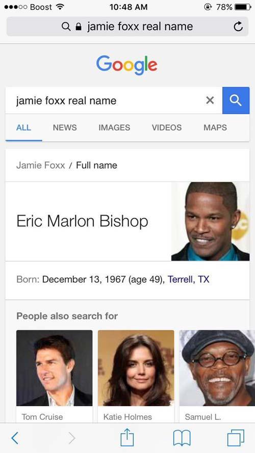 Jamie Foxx's real name, crowdink.com, crowdink.com.au, crowd ink, crowdink