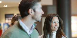 Pippa Middleton and husband at airport (Image Source: honey.nine), crowdink.com, crowdink.com.au, crowd ink, crowdink