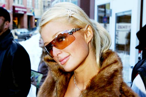 Paris Hilton (Image Source: man repeller)