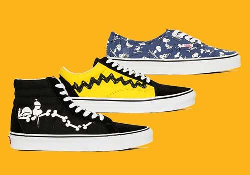 crowdink.com, crowdink.com.au, crowd ink, crowdink, Peanuts (Image Source: Vans Website)