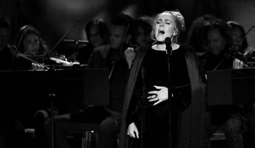 Adele at Grammy's (Image Source: inquisitr.com), crowdink.com, crowdink.com.au, crowd ink, crowdink
