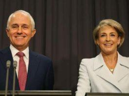 Malcolm Turnbull and Minister for Employment Sen. Michaella Cash (Image Source: herladsun)