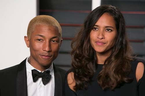 Pharrell Williams and wife Helen Lasichanh (Image Source: Huffingtonpost), crowdink.com, crowdink.com.au, crowd ink, crowdink