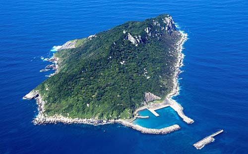 Japan's Okinoshima, crowdink.com, crowdink.com.au, crowd ink, crowdink