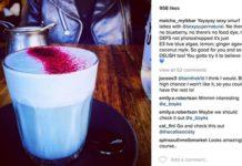 crowdink.com, crowdink.com.au, crowd ink, crowdink, Matcha Mylkbar - Blue Algae Latte