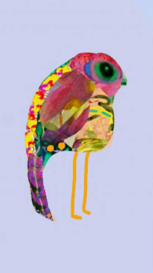 crowdink.com, crowdink.com.au, crowd ink, crowdink, Mr Googlyboo bird by Tabitha Stowe