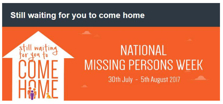 National Missing Persons Week, crowdink.com, crowdink.com.au, crowd ink, crowdink