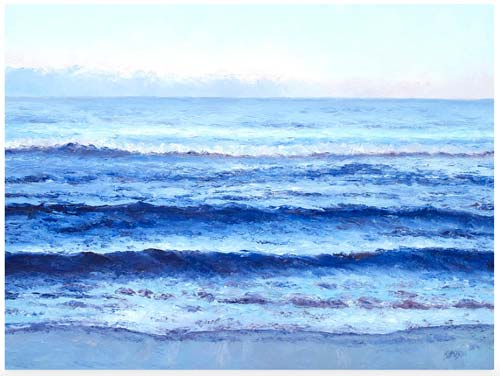 crowdink.com, crowdink.com.au, crowd ink, crowdink, Ocean at Dusk by Jan Matson