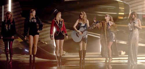 Still from Taylor Swift music video (Image Source: usmagazine), crowdink.com, crowdink.com.au, crowd ink, crowdink