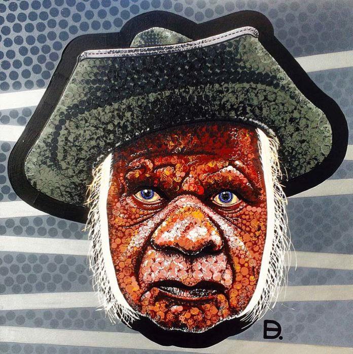 Uncle Max by Blak Douglas, crowdink.com, crowdink.com.au, crowd ink, crowdink