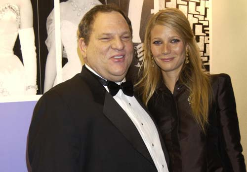crowdink.com, crowdink.com.au, crowd ink, crowdink, Harvey Weinstein and Gwyneth Paltrow (Image Source: LA Times)