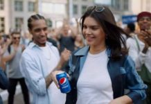 crowdink.com, crowdink.com.au, crowd ink, crowdink, Kendall Jenner in Pepsi ad (Image Source: Delish)