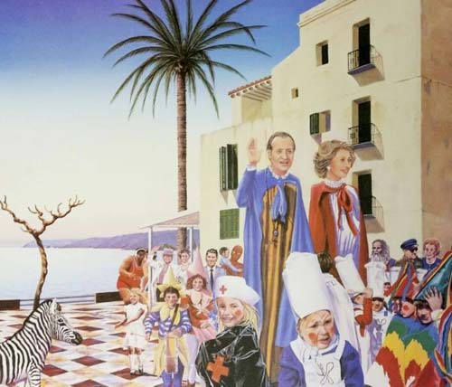 Cadaques 'Carnival' by Phil Clarke