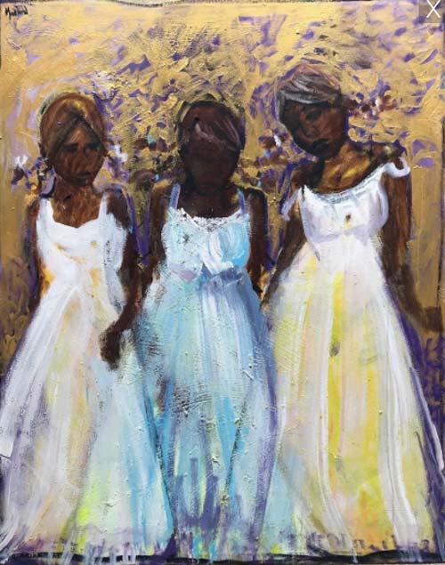 GIRLS ON GOLD by John Maitland
