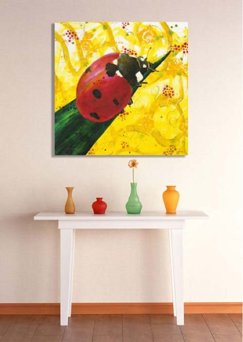 crowdink.com, crowdink.com.au, crowd ink, crowdink, , Ladybug by Michelle Gilks