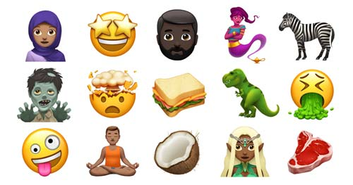 New Apple Emoji, crowdink.com, crowdink.com.au, crowd ink, crowdink